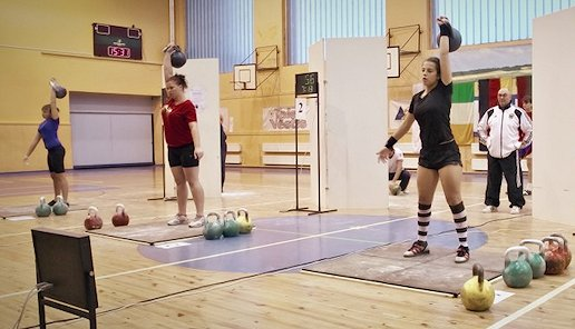 IUKL Kettlebell Jugendmeisterschaft 2012 in Talsi, Lettland