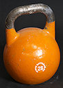 Kettlebell 28kg ORANGE