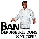 Ban Berufskleidung & Stickerei Logo