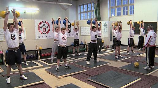Athletische Ausbildung bei Johann Martin