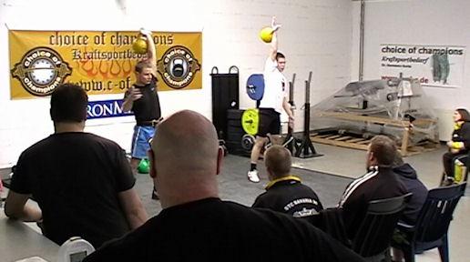 Offene Deutsche Kettlebell Meisterschaft in Haltern am See (März 2011)